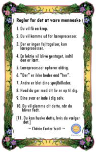 10 Regler for det at være menneske af Cherie Carter-Scott