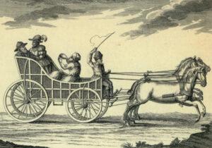 Oprindelsen for coach: En ungarnsk kocsi (hestevogn) fra Ungarn 1568